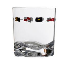 Set 6 Bicchieri Acqua Regata