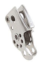 Bozzello singolo con arricavo e strozzatore scotta 5mm