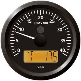 Contagiri con Display 4000 RPM VDO