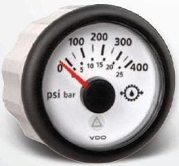 Indicatore pressione olio trasmissione VDO Viewline