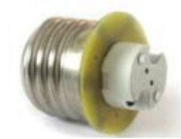 DIXPLAY Convertitore per lampada G4 da E14