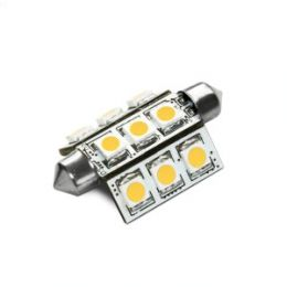 Lampada Led SV8.5 9smd Led 42mm 8V-35V 180
