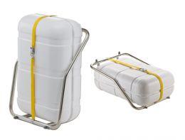 Telaio regolabile per zattera montaggio verticale
