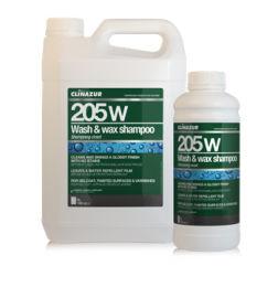 Shampoo Wash & Wax 205WW Clin Azur