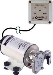 Pompa reversibile Marco UP6-RK con pannello