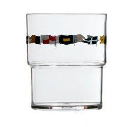 Set da 12 bicchieri impilabili Regata 12103