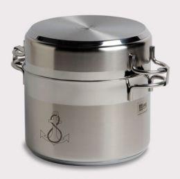 Set 8 Pezzi Batteria da Cucina Auto-Contenitrice