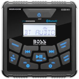 Stereo Marino da cruscotto Boss Marine MGR450B quadrato