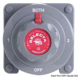 Interruttore/Deviatore per batterie Selecta